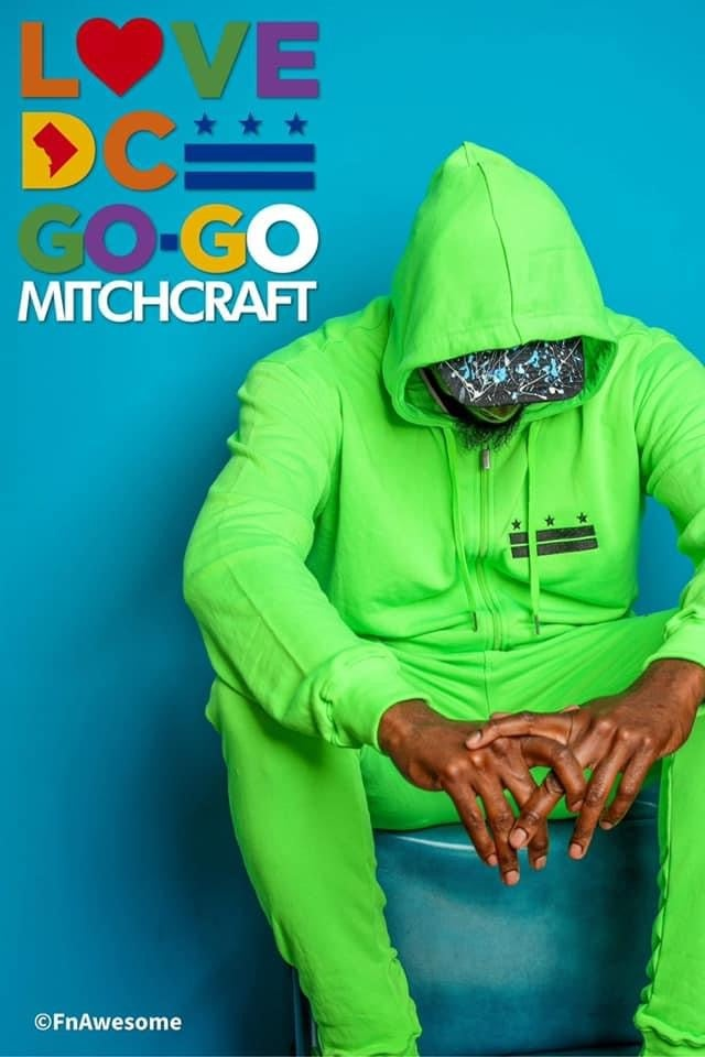 "Image of Big G x MITCHCRAFT Highlighter Green ""Flagship"" Zip hood"