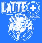 Image of Latte+ - No More Than Three Chords LP (colour vinyl) PRE-ORDER
