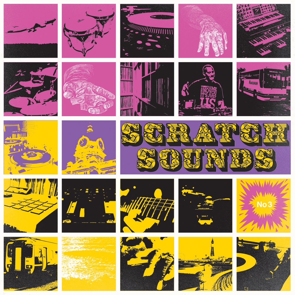 "12"" Vinyl (Pink Panther) - Scratch Sounds No.3 (Atomic Bounce)"