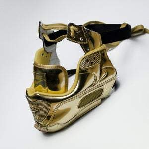Image of SNEAKER MASK / AIR MASK 90 / GOLD