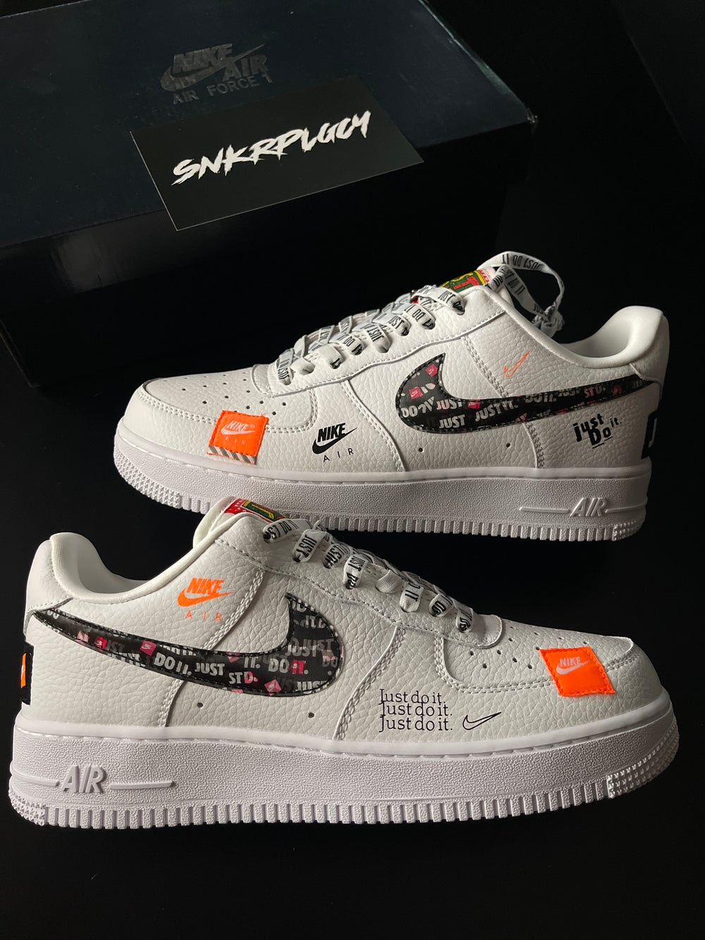 """Nike Air Force 1 """"Just Do It"""""""
