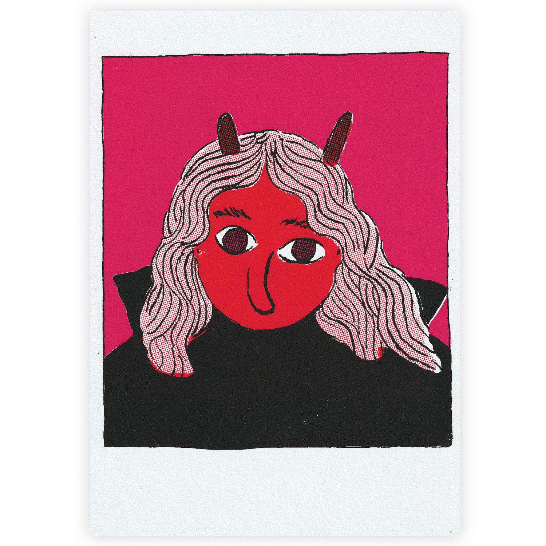 Image of Silk-Screen Print 'Devil Got My Woman'