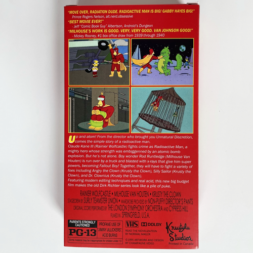 Image of Radioactive Man VHS