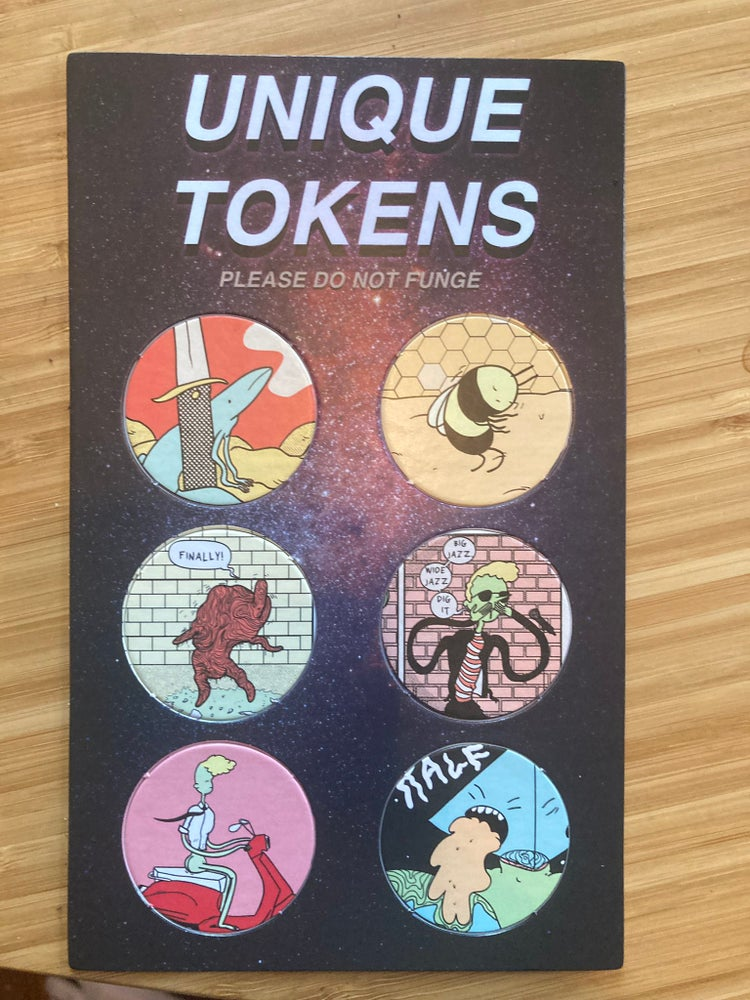 Image of non fungible tokens