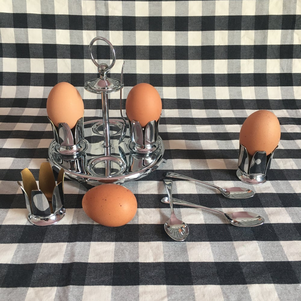 Image of  Art deco egg stand