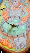 """""""MAKE SOME MAGIC"""" Halloween Witchy Clock"""
