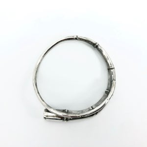 Image of Silver Tendril Bangle Bracelet 03