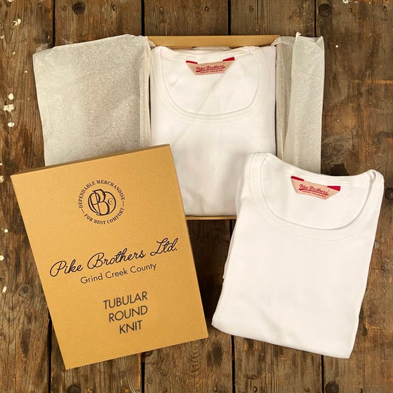 Image of PIKE BROTHERS 1947 ROUND NECK SET WHITE