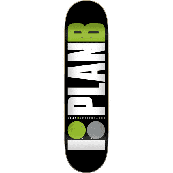 TABLA PLAN B TEAM GREEN 8.0""