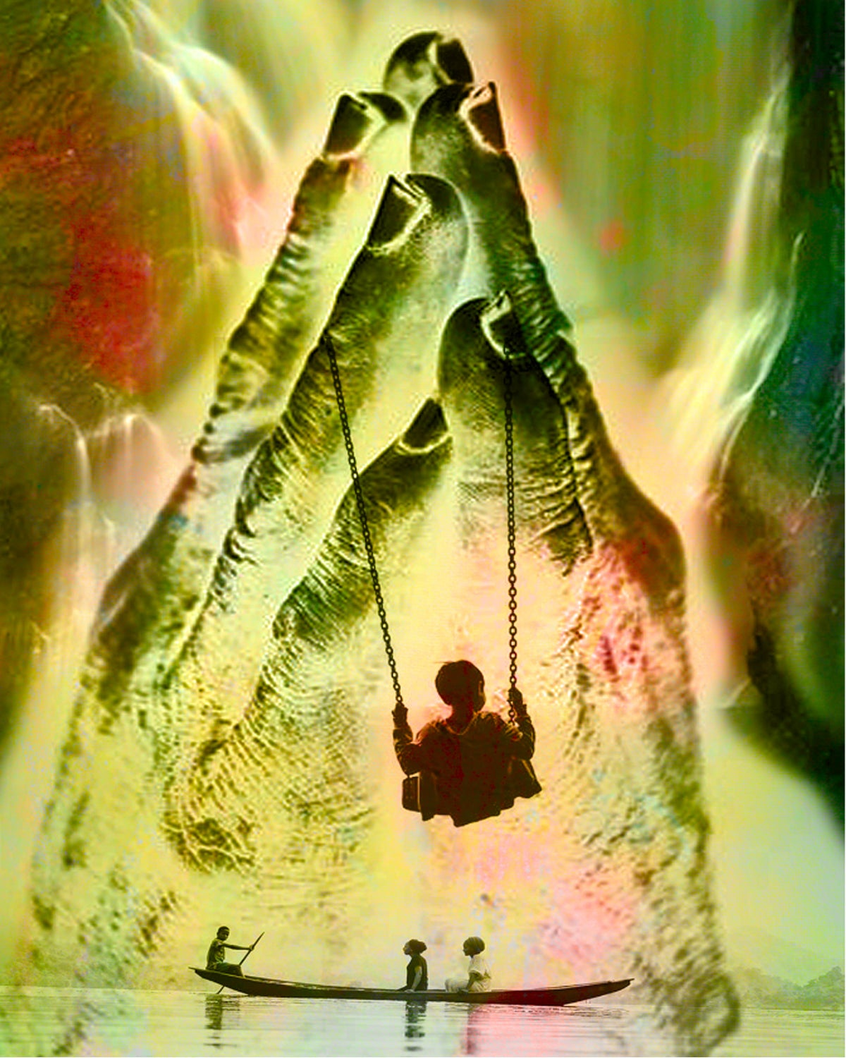 Image of Transformation - Swinging into the Light
