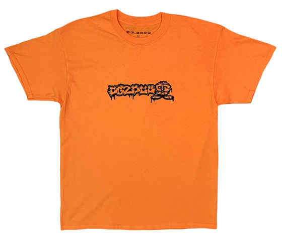 "Image of ""BIT MARV""  T-SHIRT *** ORANGE"