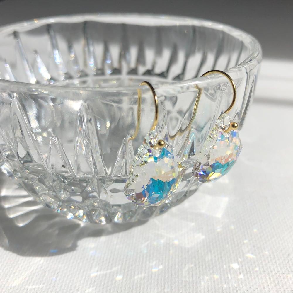 Image of Swarovski Crystal Statement Earrings