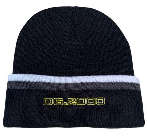 "Image of ""STEEL"" BEANIE *** GREY/BLACK"