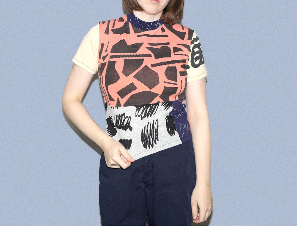 Image of PATCHWORK WOMEN TSHIRT