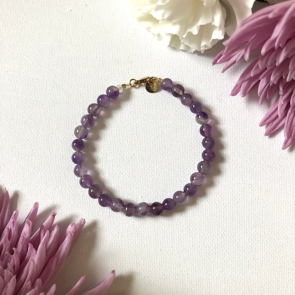 Image of NEW! Amethyst Bracelets