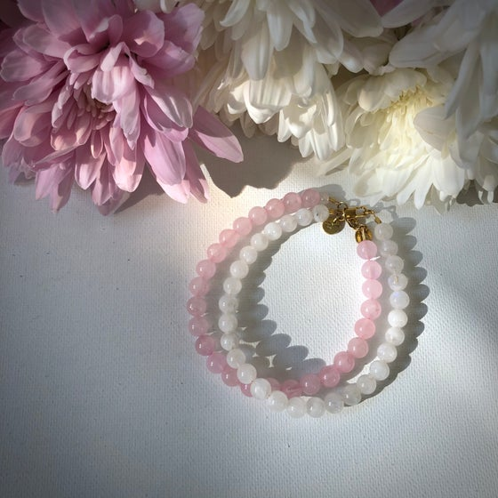 Image of NEW! Rose Quartz Bracelets