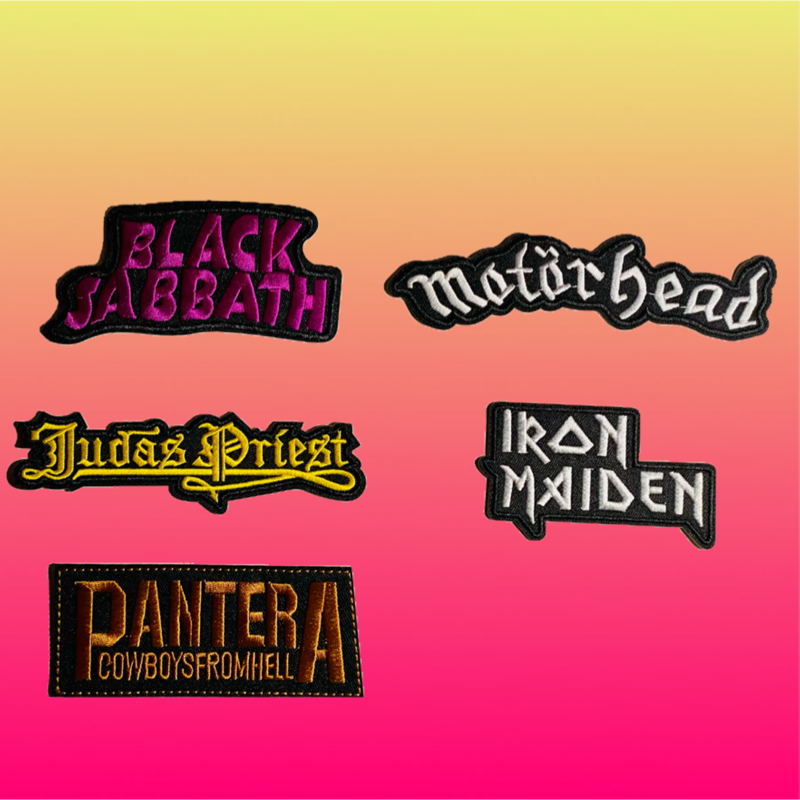 Image of H⚡️P SWAP MEET STONER PATCHES