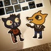 Night in the Woods Stickers