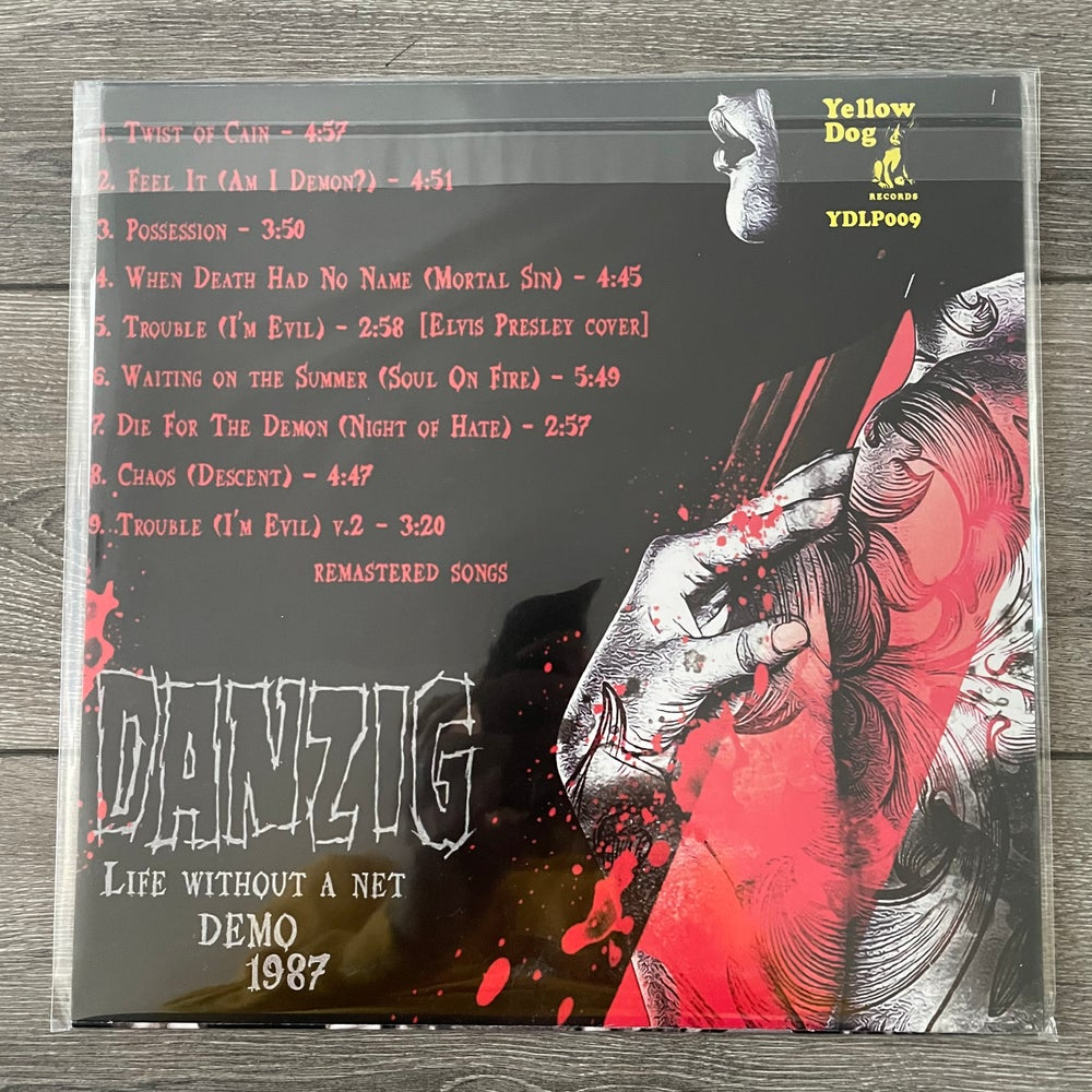 Image of Danzig - Life Without A Net Demo 1987 Vinyl LP