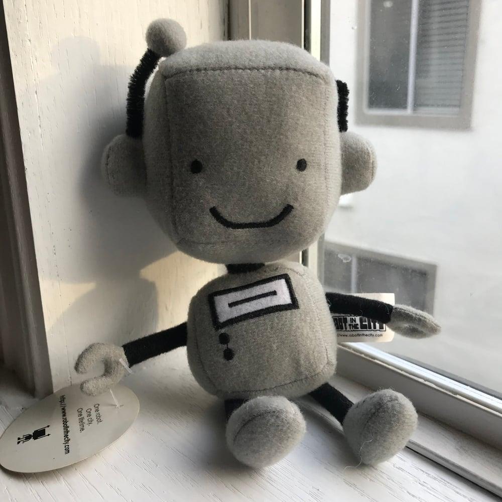 Ritz the Robot Plushie