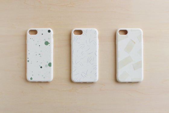 Image of eco smartphone case / 点 線 面