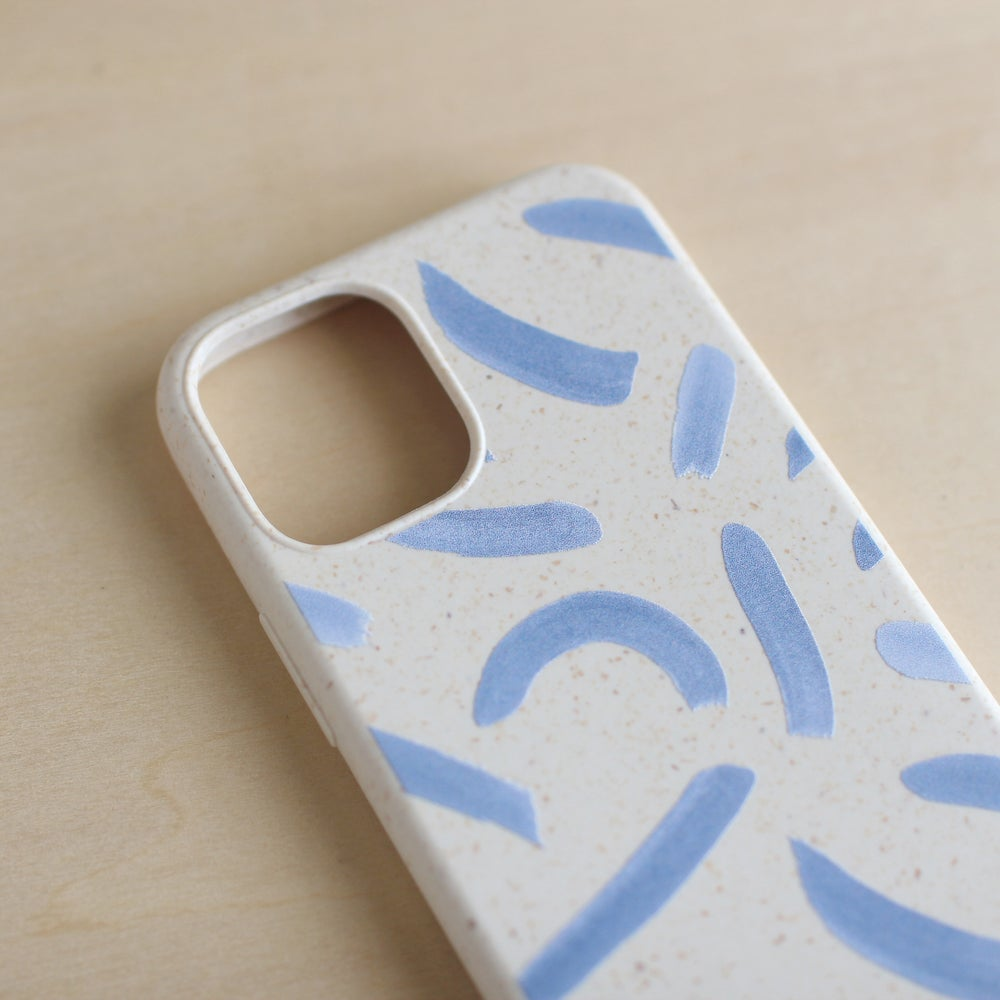 Image of eco smartphone case / 点 線 面
