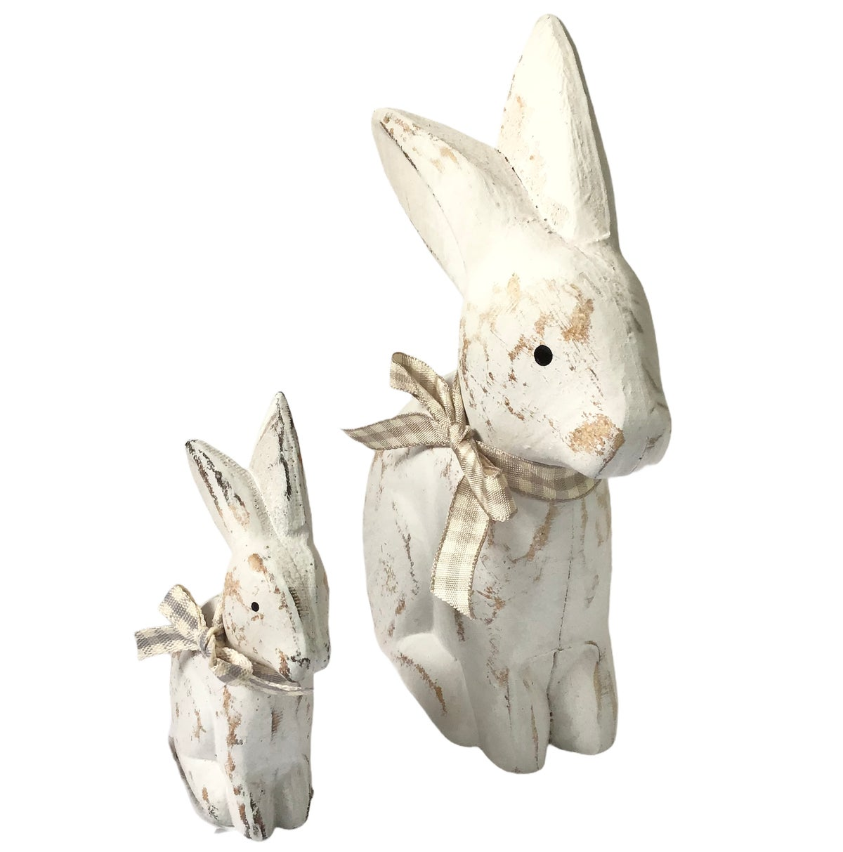 Image of Shabby Chic Rustic Bunnies