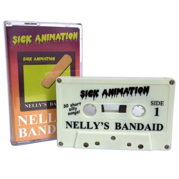 Nelly's Bandaid cassette tape - Sick Animation Shop