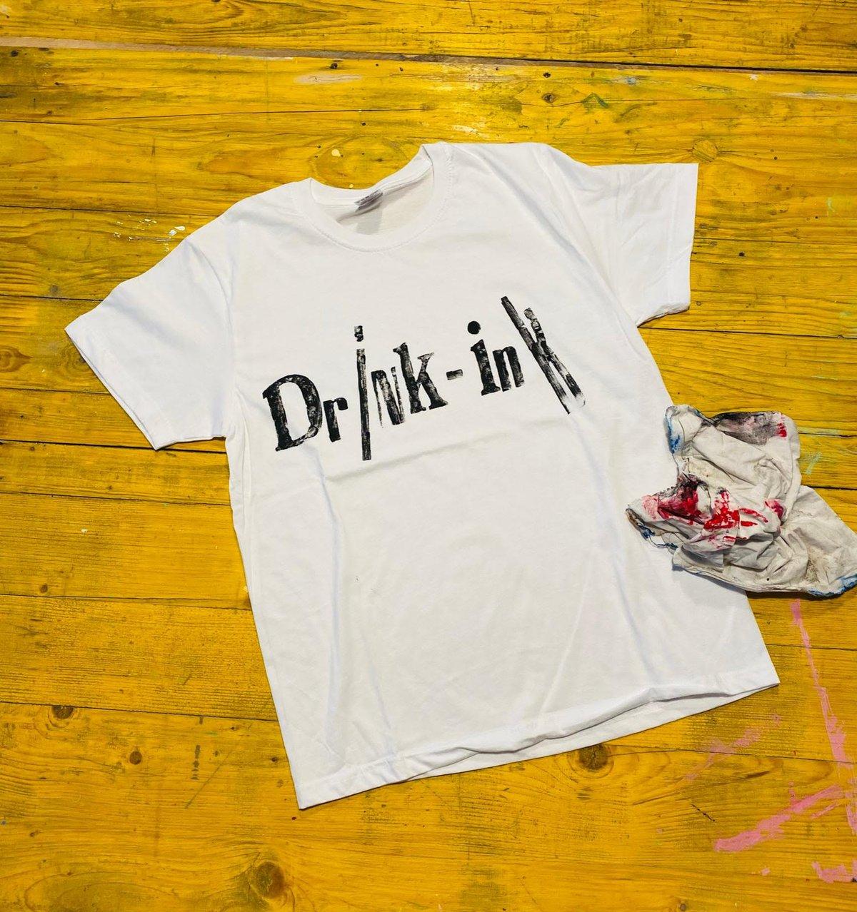 Image of Drink-Ink shirt di Tita e Eco Dario