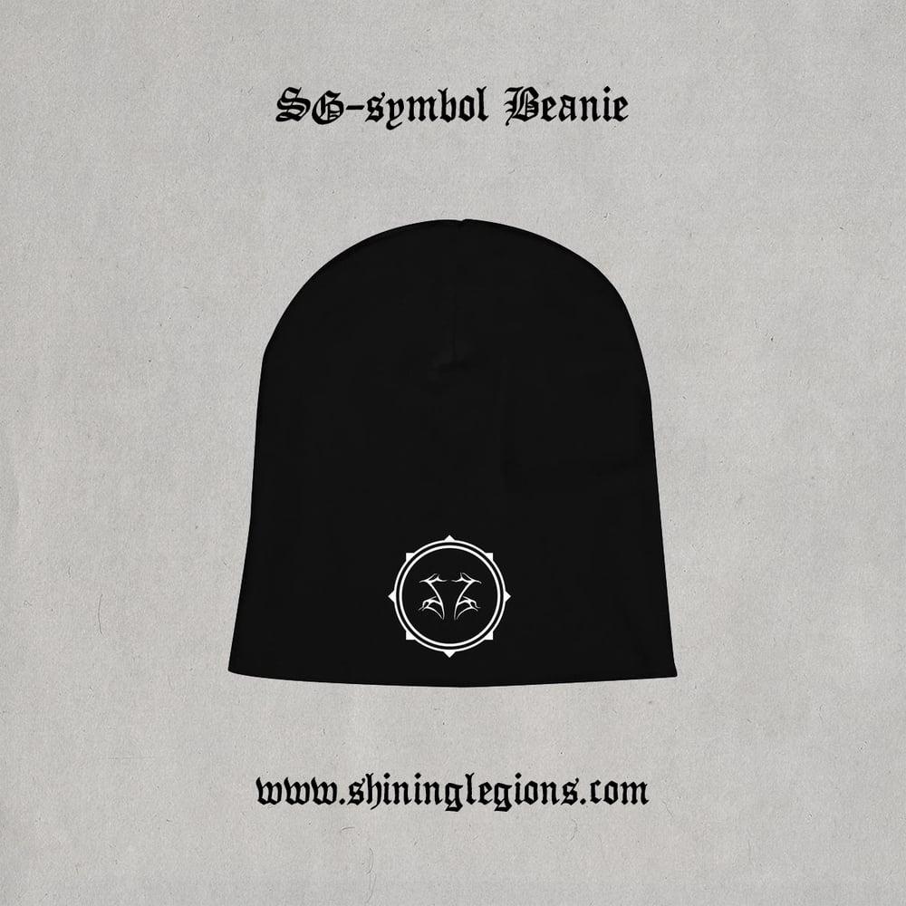 """Image of Shining """"SG Symbol"""" beanie"""