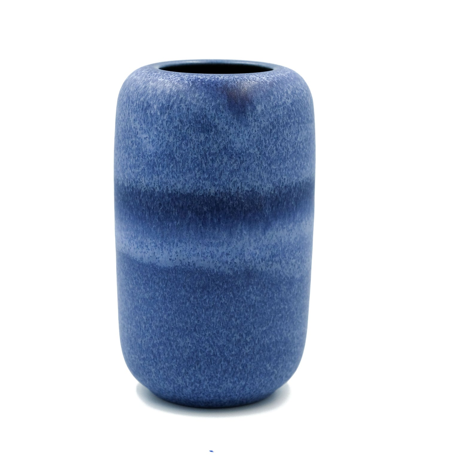 Image of UNIKA BOB VASE IN INDIGO BLUE GLAZE