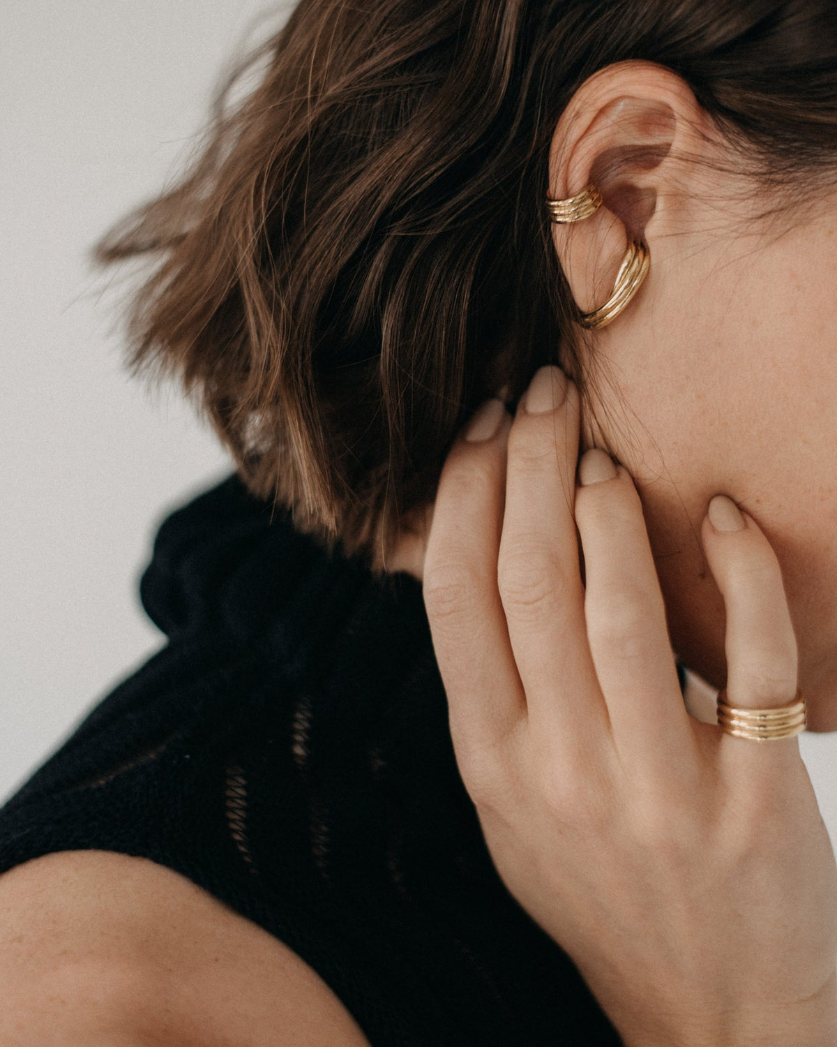 Image of gold plated cuff