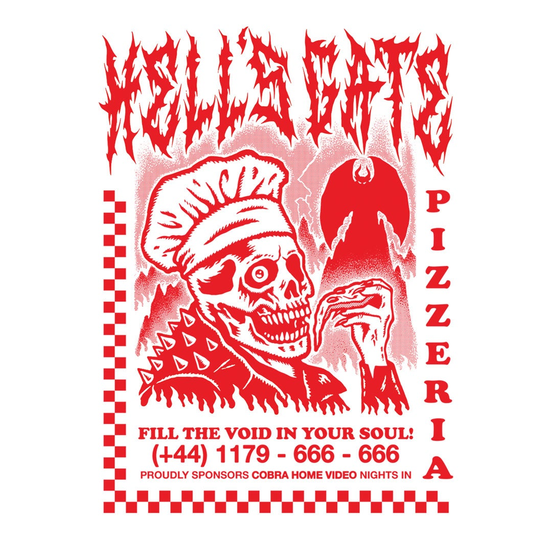 Image of HELL'S GATE PIZZERIA - White