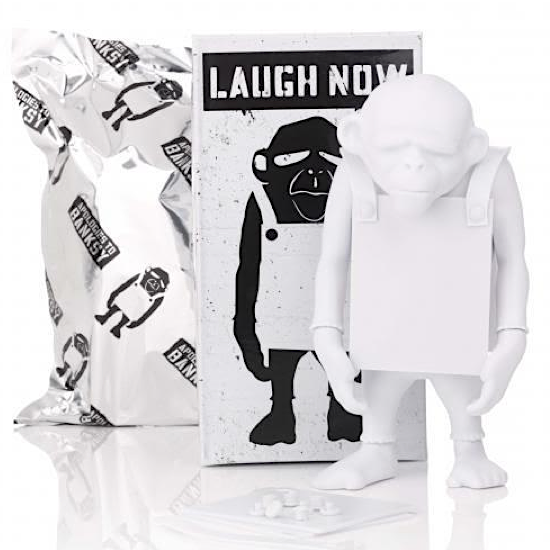 """Image of """"LAUGH NOW"""" DIY Blank from Apologies To Banksy"""
