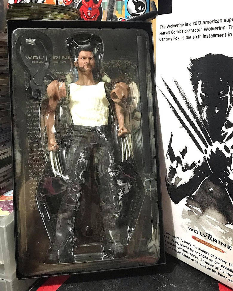 """Image of """"The Wolverine"""" 1/6th Scale Collectible Figure from Crazy Toys"""
