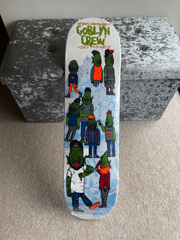Image of Goblyn Crew X Heroin Skateboards Deck