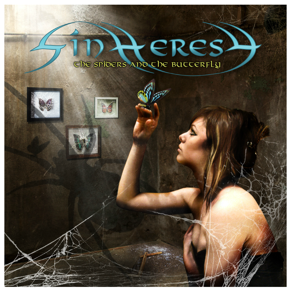 Image of THE SPIDERS AND THE BUTTERFLY / EP Hardcopy