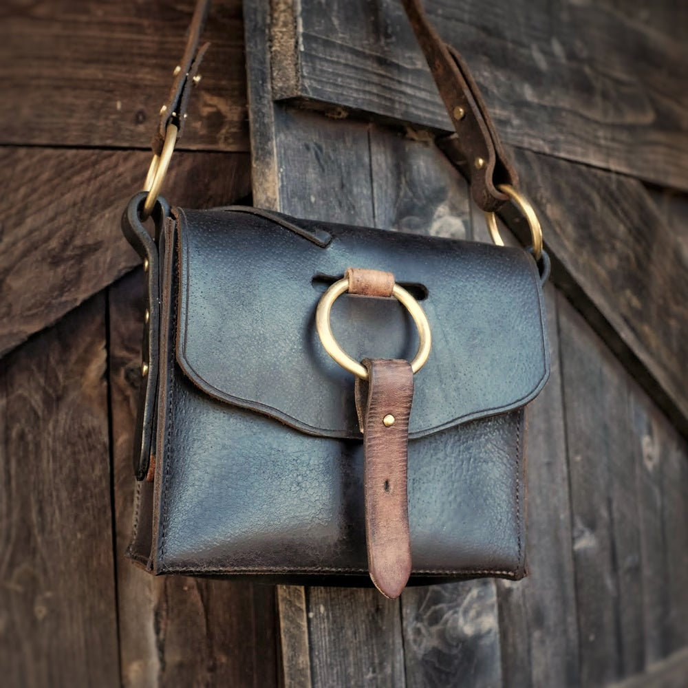Image of Antique Saddle Bag