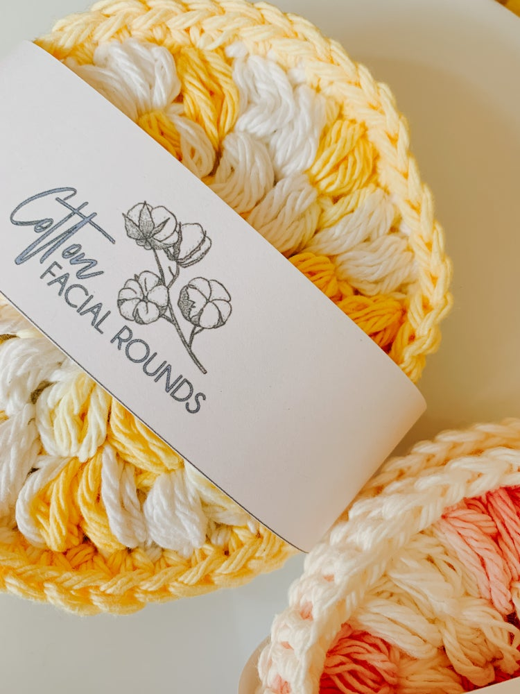 Image of Reusable Cotton Face Rounds (Set of 4)