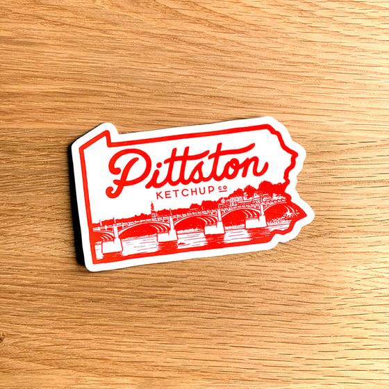 Image of Pittston Ketchup Big Sticker