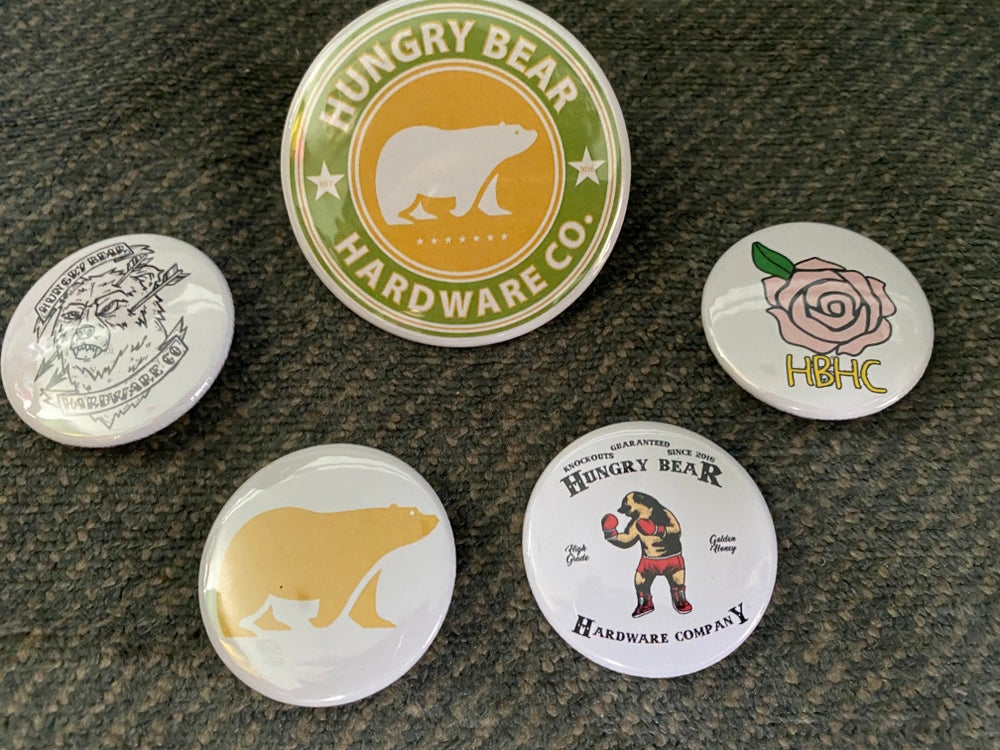 """Image of Hungry Bear """"2020""""  pin pack"""