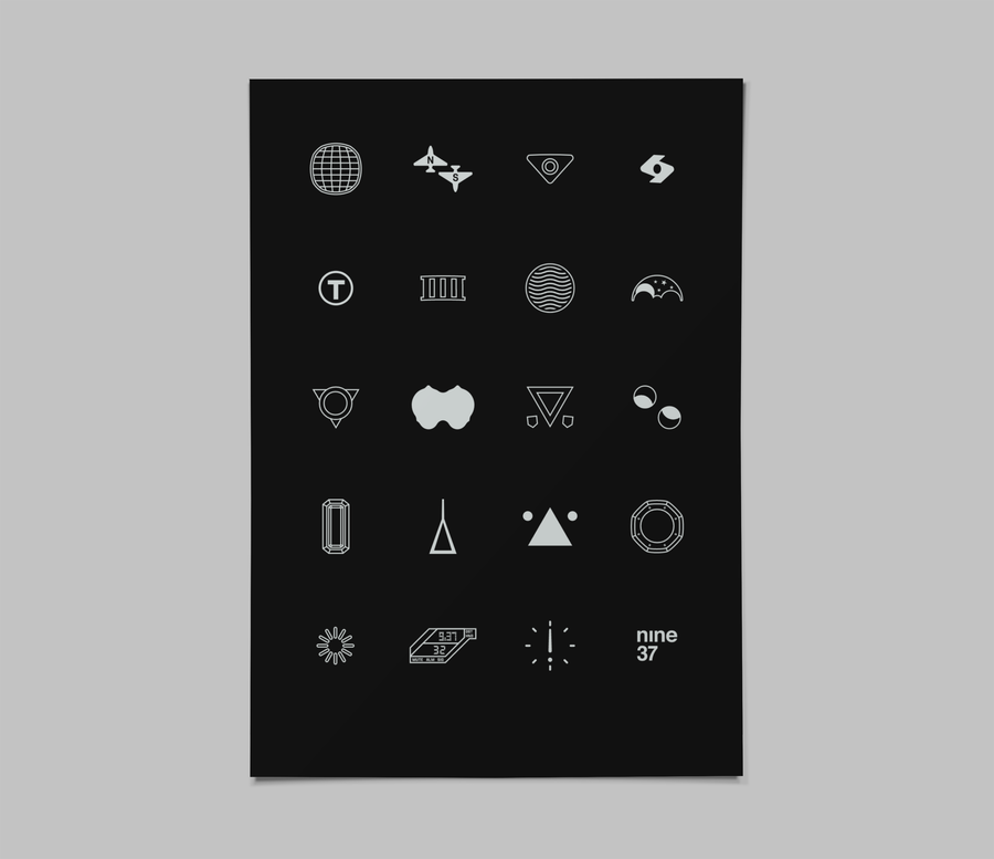 Image of Assorted Icons [dark]
