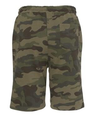 Image of Palm Logo Fleece Shorts (Camo)