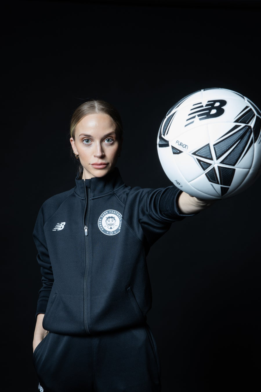 Image of Women's New Balance Warm-Up Jacket