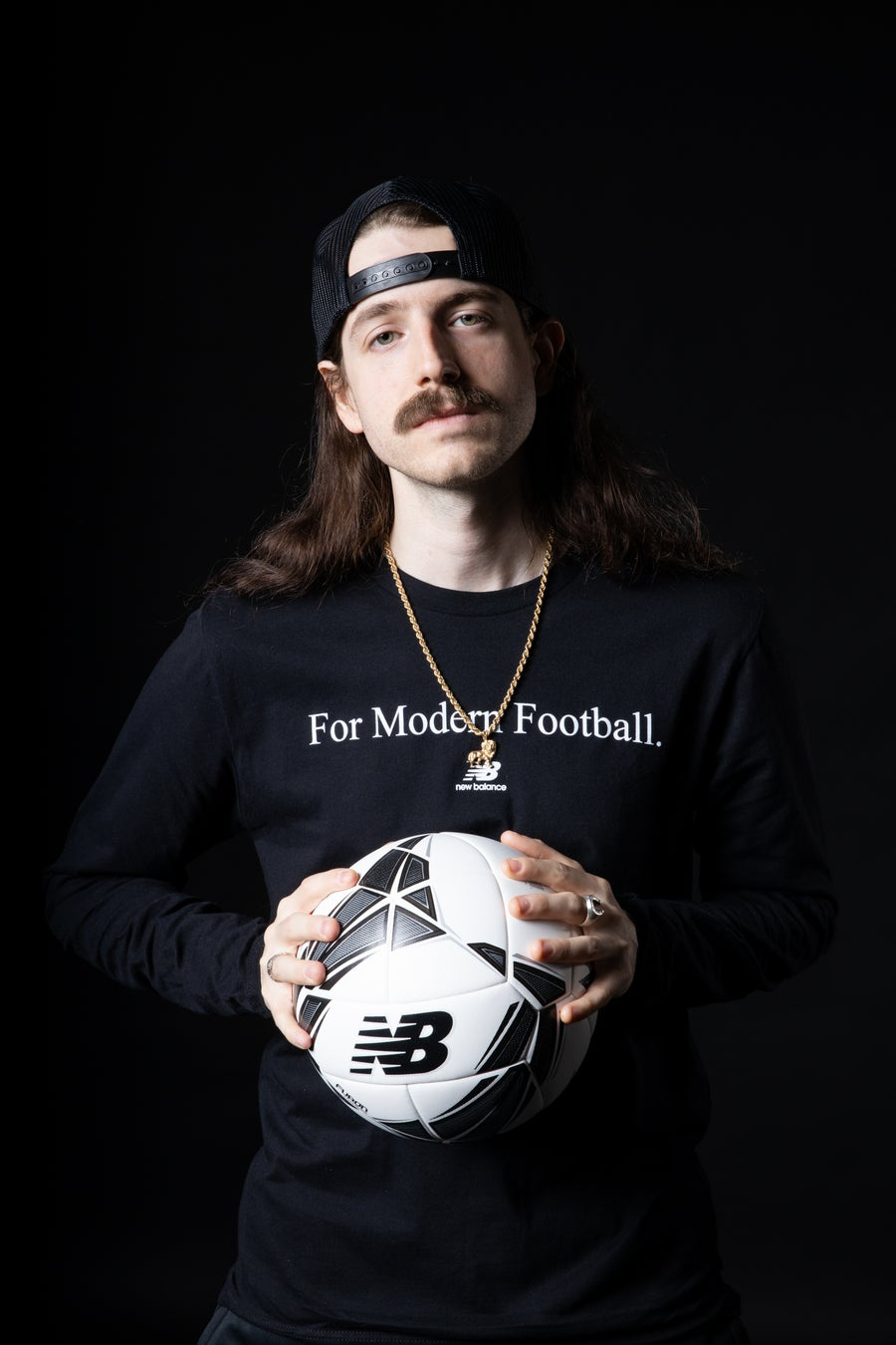 "Image of New Balance ""For Modern Football"" Tee"