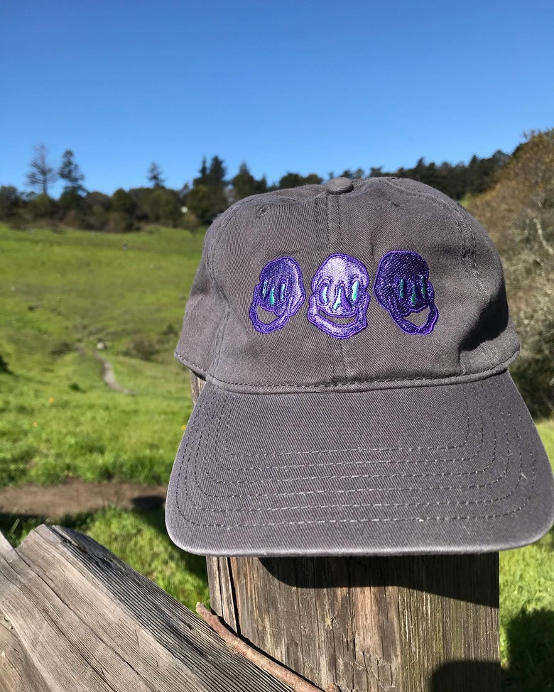 Image of All My Friends Dad Hat (Purple Version)