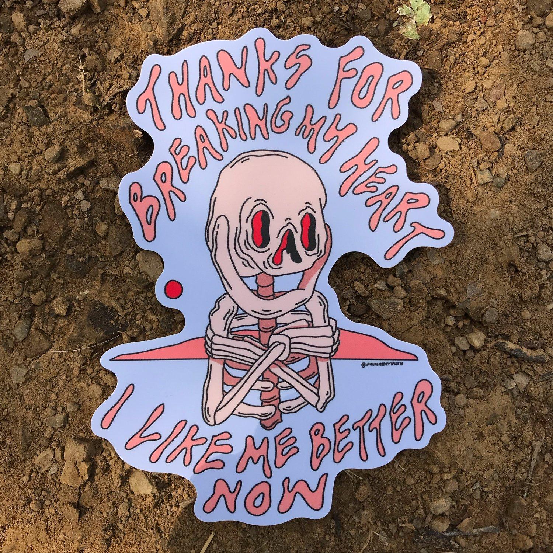 Image of Thanks Sticker