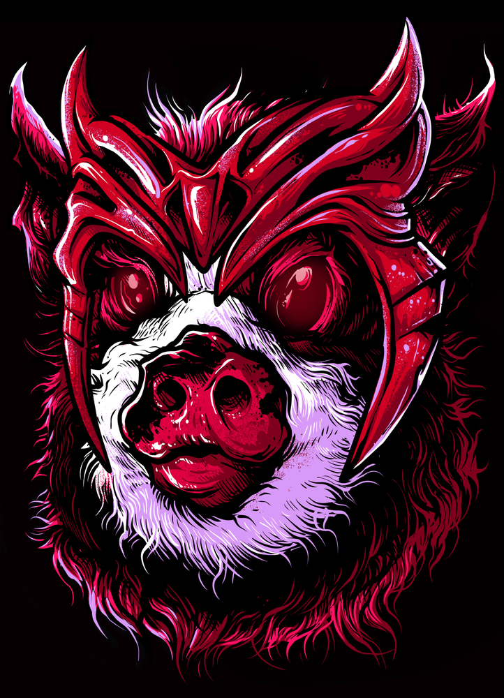 Image of Whipstick - The Scarlet Pig (FTP)