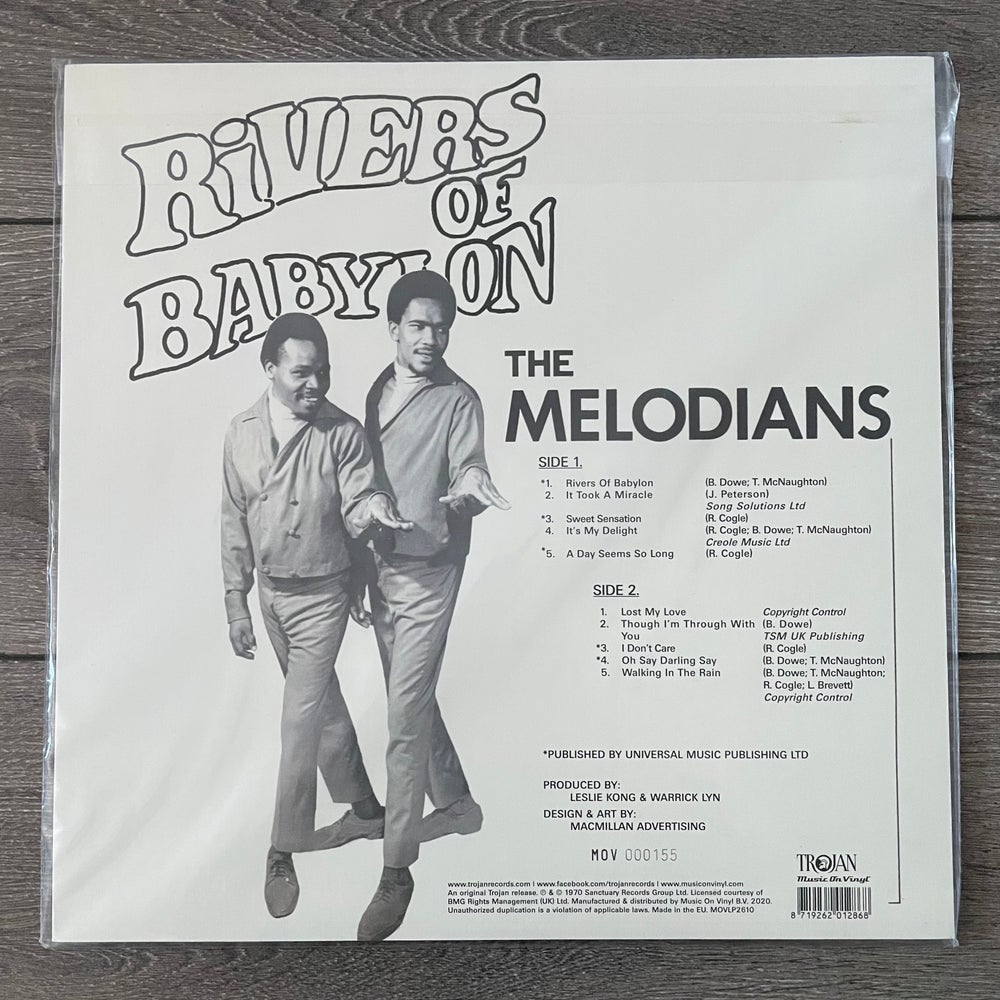 Image of The Melodians - Rivers of Babylon Vinyl LP