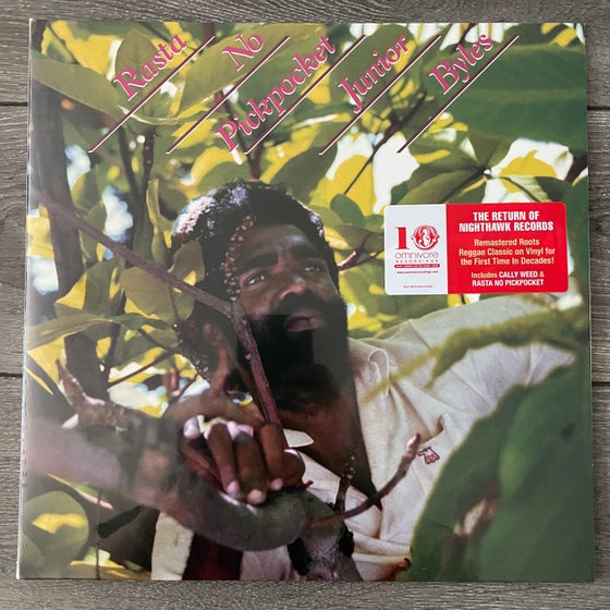 Image of Junior Byles - Rasta No Pickpocket Vinyl LP